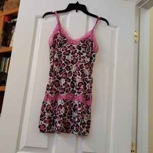 2d4a65dcb Hello Kitty Pink Leopard Print Nightgown